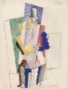 """""""L'homme au gibus"""" de Pablo Picasso"""