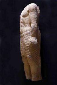statue du prêtre phénicien © OLJ