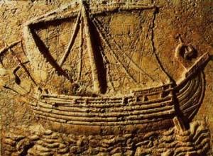 navire phenicien