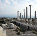 Tyr maritime, colonnades