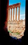 Colonnes Temple de Jupiter - Baalbek