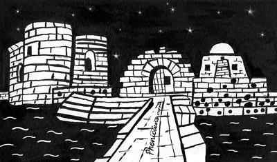 Sidon, la forteresse médiévale